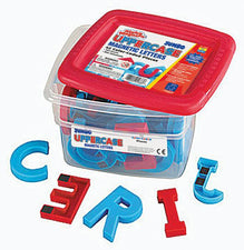 Alphamagnets Jumbo Uppercase 42 Pieces Color-Coded