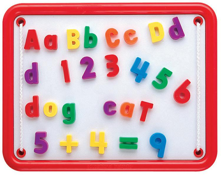 99 Piece Magnetic Alphabet & Numbers Set