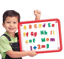 100 Piece Magnetic Alphabet, Numbers, and Board Set