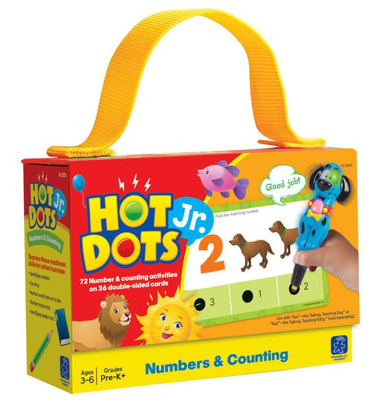 Hot Dots Jr. Cards: Numbers & Counting