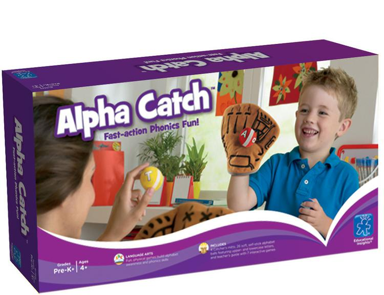 Alpha Catch - Fast-action Phonics Fun!