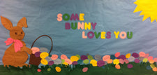 Some-BUNNY Loves You! - Easter Bulletin Board Idea