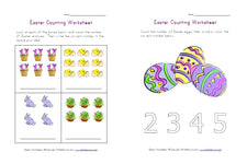 Easter Themed Printables from All Kids Network