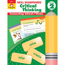 Skill Sharpeners: Critical Thinking, Grade 2 - Activity Book