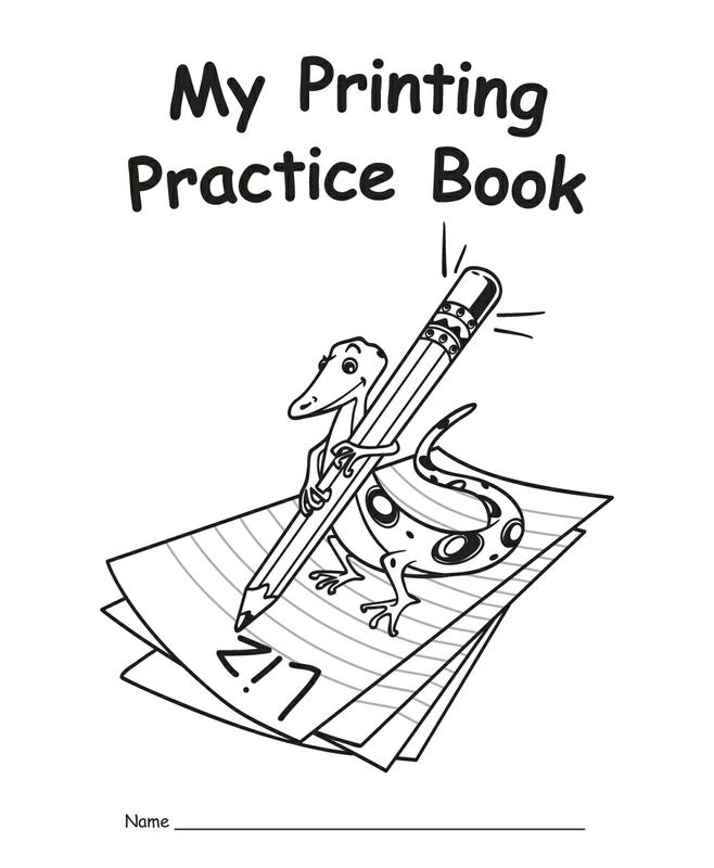 Teacher Created Resources My Own Printing Practice Book