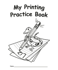 My Own Printing Practice Book (traditional manuscript)