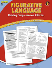 Reading Comprehension Book, Figurative Language, Red Level