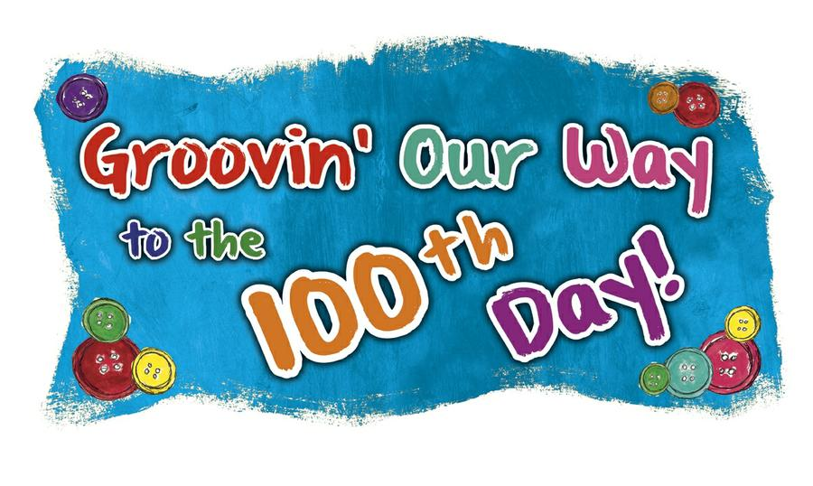 100 Groovy Days of School Bulletin Board Set Featuring Pete the Cat®