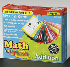 Math in a Flash™ Color-Coded Flash Cards, Addition