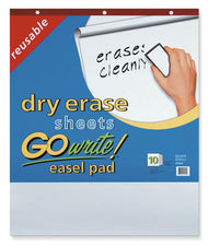 GoWrite!® Dry Erase Easel Pad, Non-Adhesive