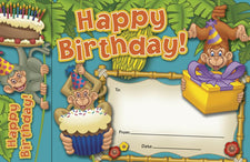 Bookmark Awards, Happy Birthday Monkeys