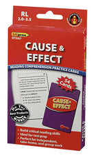 Cause & Effect Practice Cards, Red Level