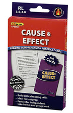 Cause & Effect Practice Cards, Blue Level