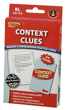 Context Clues Practice Cards, Red Level