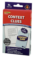 Context Clues Practice Cards, Blue Level