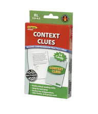 Context Clues Practice Cards, Green Level