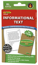 Informational Text Reading Comprehension Practice Cards, Green Level