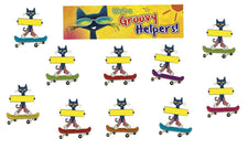 Groovy Classroom Jobs Mini Bulletin Board Set Featuring Pete the Cat®