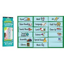 Visual Daily Classroom Schedule, Grades 1-7