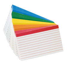 Oxford Color-Coded Index Cards 3 x 5