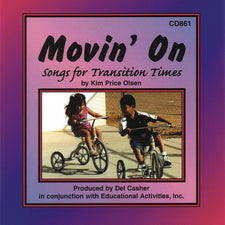 Educational Activities Movin' On - Songs for Transition Times (CD)