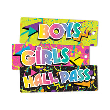 Rock the Classroom Hall Passes