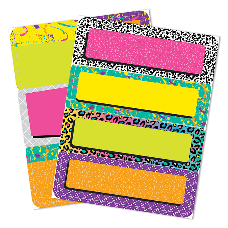 Rock the Classroom Label Stickers
