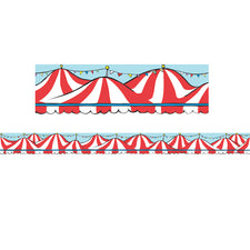 Dr. Seuss™ If I Ran the Circus Big Top Extra Wide Die Cut Deco Trim®