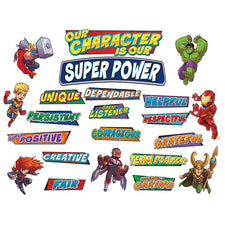 Marvel™ Super Hero Adventure Hero Traits Mini Bulletin Board Set