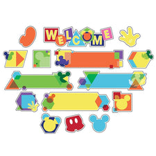 Geo Mickey® Welcome Bulletin Board Set
