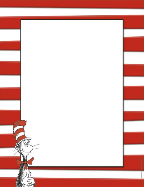 Dr. Seuss™ Cat in the Hat™ Computer Paper