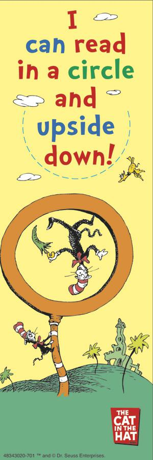 Dr. Seuss™ I Can Read In A Circle and Upside Down Bookmarks