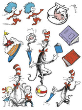 Cat in the Hat™ Characters 12 x 17 Window Clings