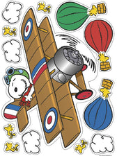 Peanuts® Flying Ace Window Clings