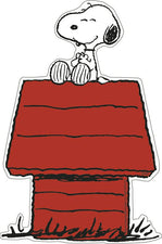 Snoopy On Dog House Accents
