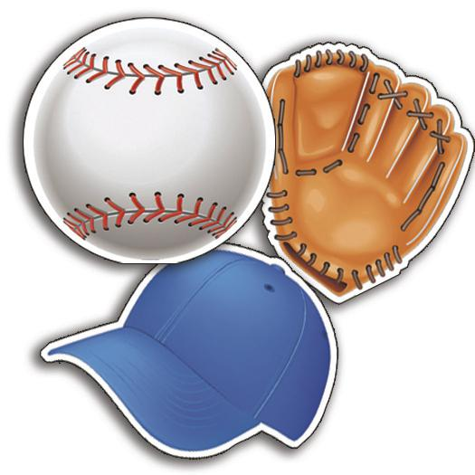 Baseball Assorted Cut-Outs