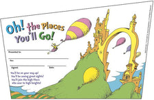 Dr. Seuss™ Oh The Places You'll Go Recognition Awards