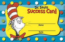 Dr. Seuss™ Cat in the Hat™ Reward Punch Cards