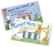 Dr. Seuss™ Scratch Off Rewards