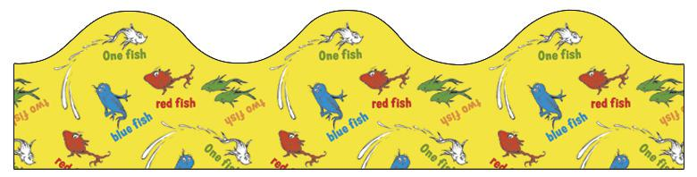 Dr. Seuss™ One Fish Two Fish Bulletin Board Border