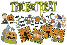 Peanuts® Halloween Mini Bulletin Board Set