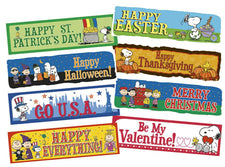 Peanuts® Year Of Holidays Mini Bulletin Board Set