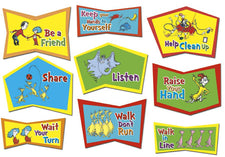 Dr. Seuss™ Classroom Rules Bulletin Board Set