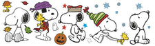 Fall Winter Snoopy Pose Bulletin Board Set