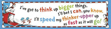 Cat in the Hat™ Think Up Bigger Things Banner 45 x 12