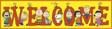 Peanuts® Welcome Banner