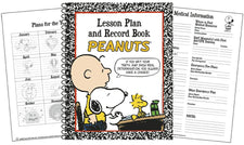 Peanuts® Lesson Plan And Record Book