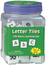 Letter Tiles, Uppercase & Lowercase
