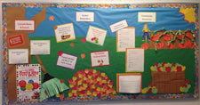Fall Themed Classroom Management Bulletin Board Idea