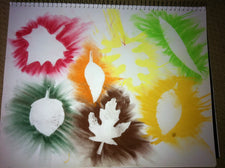 Create Fall Leaves with Chalk Pastels - Early Childhood Art Activity!
